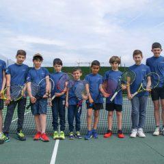 Les jeunes représentants de Prissé en championnat par équipes